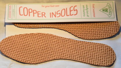 leather & copper insole