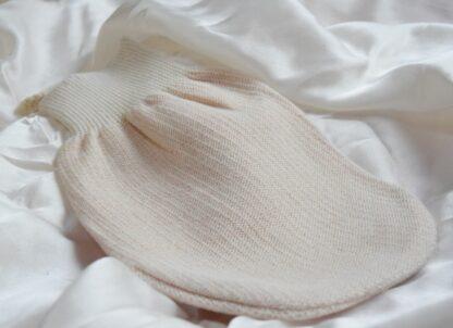 guante de algodón y cobre
